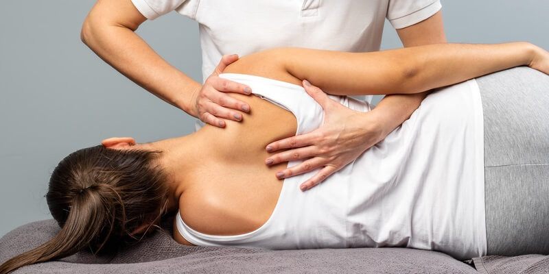 chiropractic adjustment therapy
